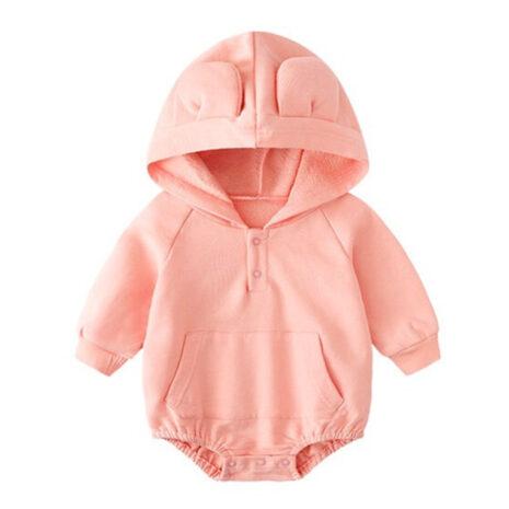 1574067313.31. Bear ears onesie pink