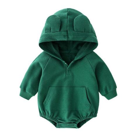 1574067686.31. Bear ears onesie green