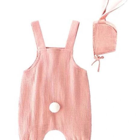 1574074565.37. Bunny dungaree pink back