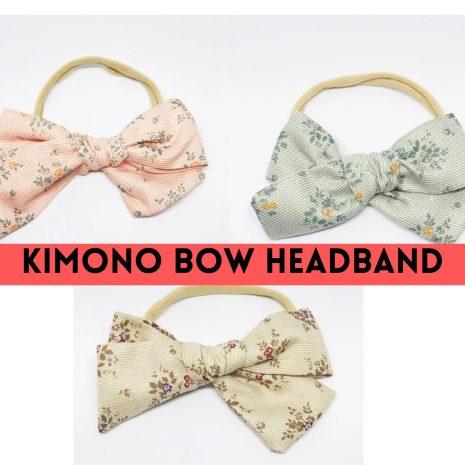 BUY 2 KIMONO BOW HEADBAND AT $9.00