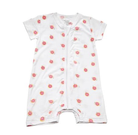 Baby Bodysuit With 3 Fruity Design - Buy 2 Get Free Blanket p