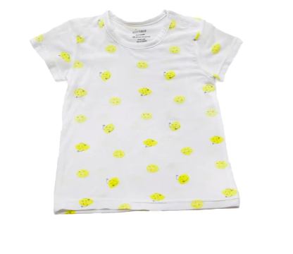 Baby T shirt With 3 Fruity Design g