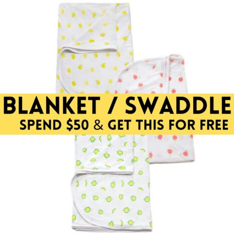 Blanket Swaddle With 3 Fruity Design