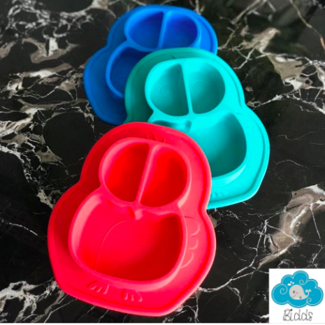 Little-Owl Silicone Suction Plate