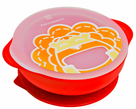 Marcus & Marcus Suction Bowl with Lid 4