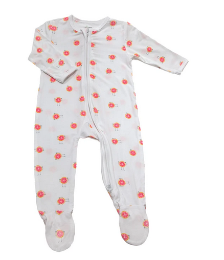 Pyjamas Zipsuit With 3 Fruity Design -- Buy 2 Get Free Blanket o