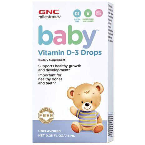 Baby Vitamin D-3 Drops Baby Vitamin D-3 Drops (7.5ml)