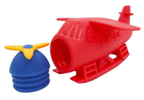 Marcus & Marcus Silicone Bath Toys - Seaplane 1
