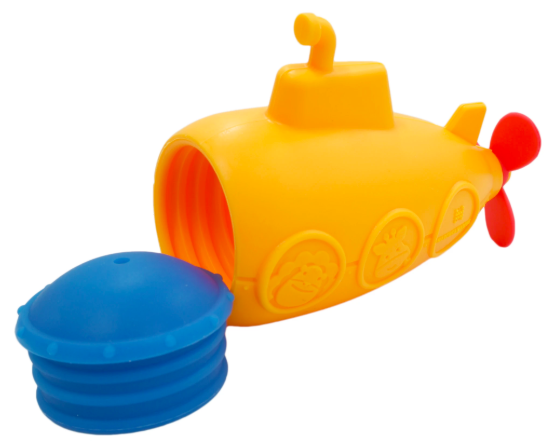 Marcus & Marcus Silicone Bath Toys - Submarine 1