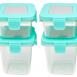 Marcus & Marcus Tritan Air Tight Container – 4oz x 2pcs + 8oz x 2pcs