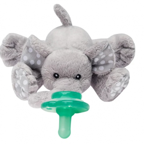 NOOKUMS PACI-PLUSHIES - ELLA ELEPHANT BUDDIES