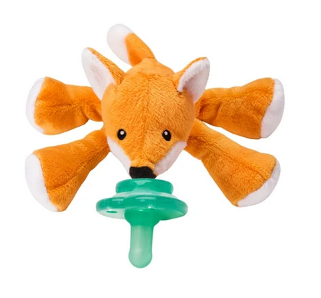 NOOKUMS PACI-PLUSHIES - FRECKLES FOX SHAKIES