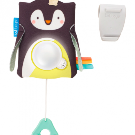 Taf Toys Prince the Penguin Baby Soother 1
