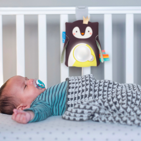 Taf Toys Prince the Penguin Baby Soother 2