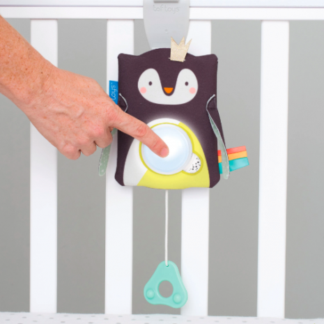 Taf Toys Prince the Penguin Baby Soother 4